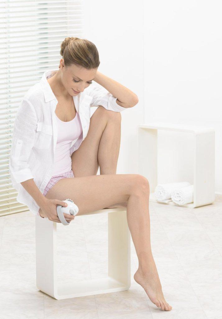 Cuisses fesses ventre hanches ce masseur anti cellulite traite toutes les zones du corps